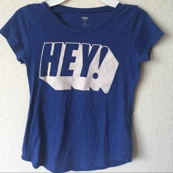 Old Navy Other - Old Navy Hey Shirt Size 8 In Girls 🌀